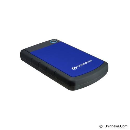 TRANSCEND Storejet 25H3 USB 3.0 2TB [TS2TSJ25H3B] - Blue - Hard Disk External 2.5 Inch
